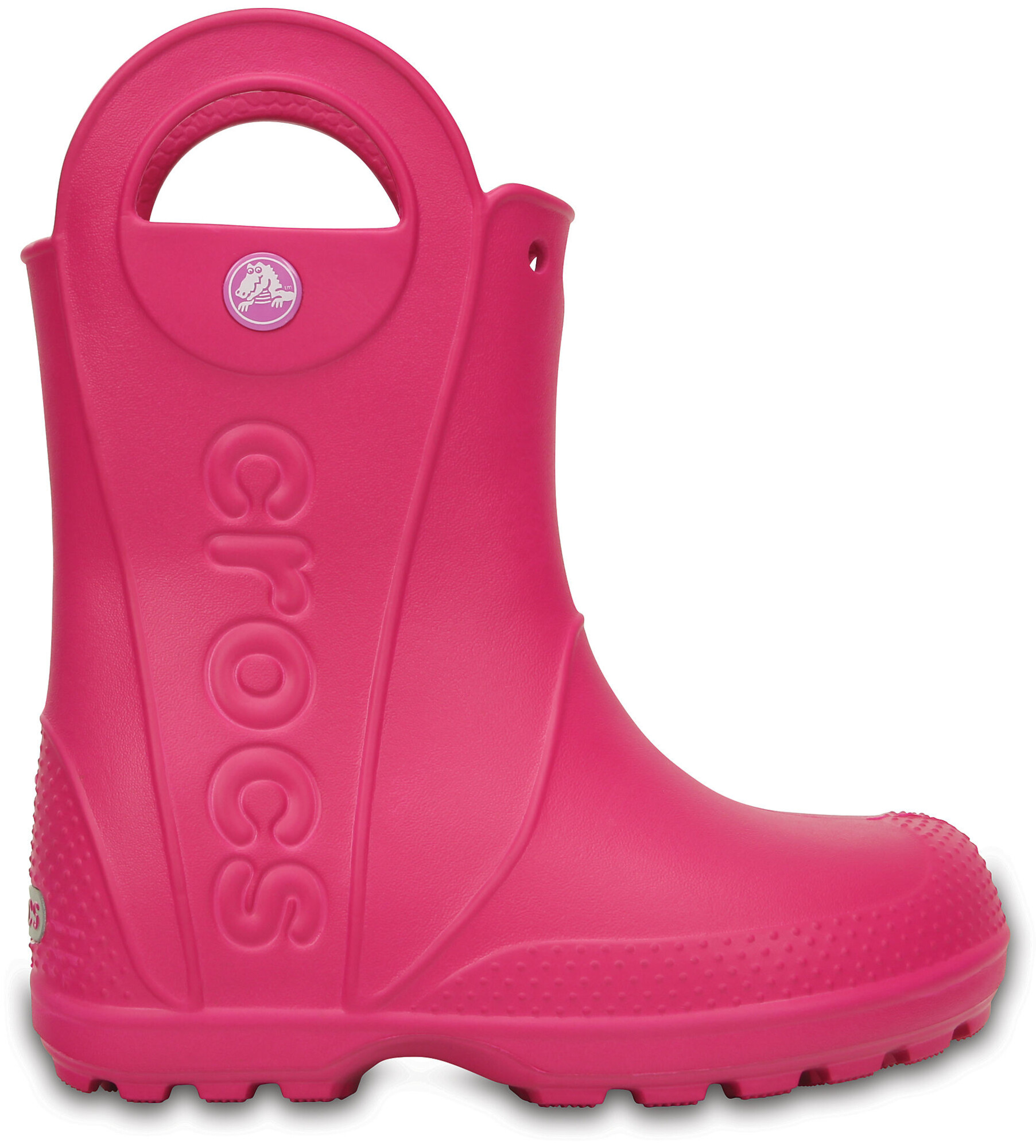 d342a1313604 Crocs Handle It Rubber Boots Children pink at Addnature.co.uk
